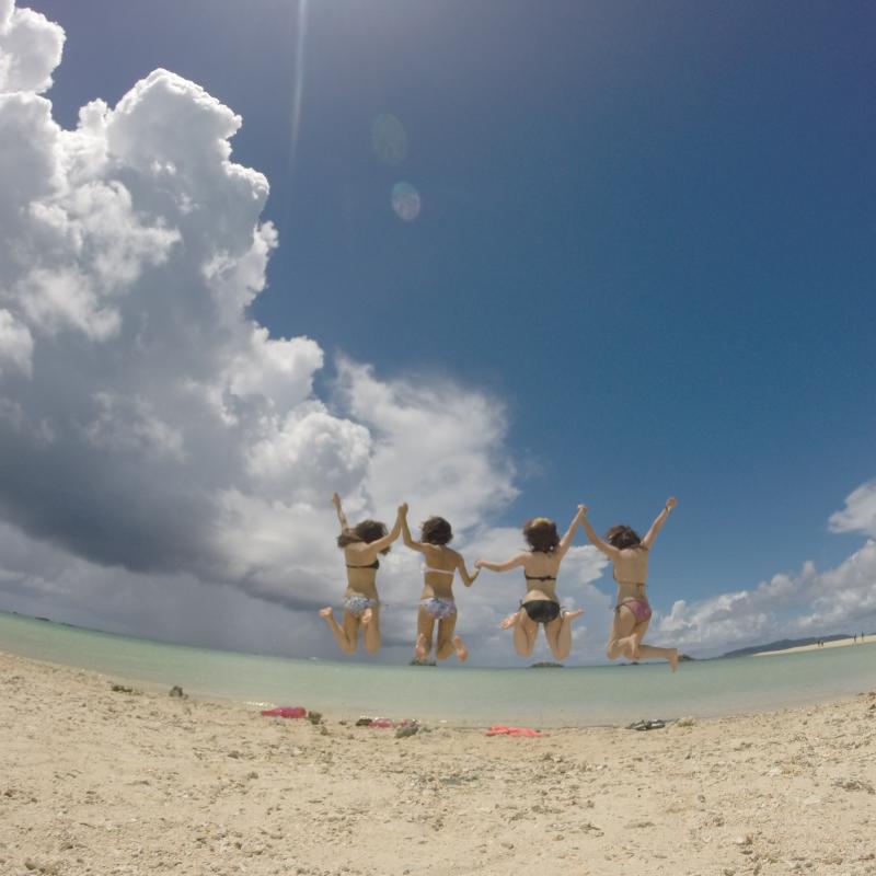 C코스 마보로시노시마 , 환상의 섬 상륙&무제한 마린스포츠 즐기기