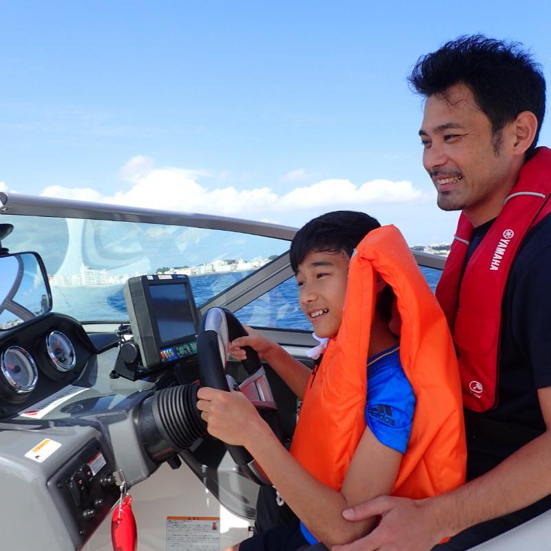 바다를 가로지르는 선장이 되어보는, 차탄 해상 산책 보트 단시간 유람선
