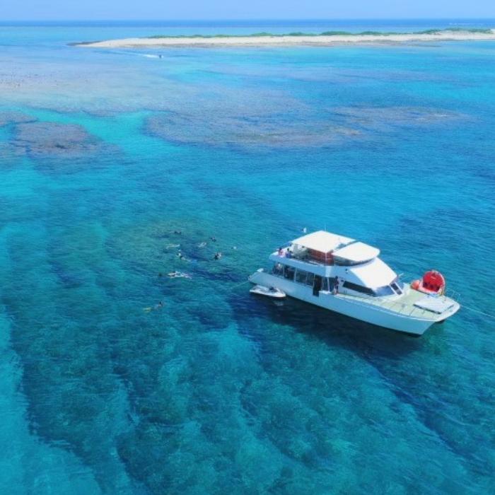 [10월한정 라스트서머] B 플랜 케라마제도 대형 산호초 스노클링&마린 1팩