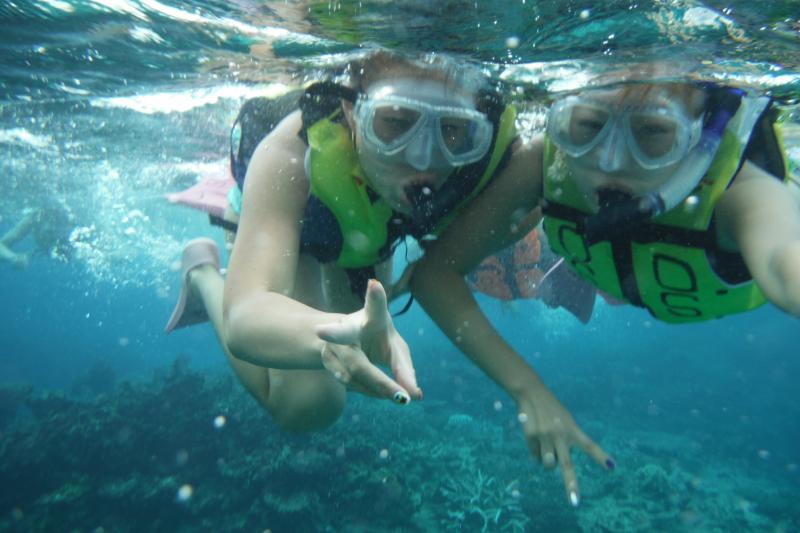 【水纳岛】浮潜&全天海水浴