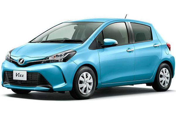 [推薦4人座小型車,1300cc,3個標準貨物箱][車款熟悉, 駕駛容易][指定:豐田Vitz][免費免責保險✙NOC1次]