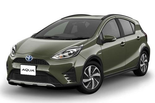 [推薦4人座小型車,1500cc,3個標準貨物箱][車款熟悉, 駕駛容易][指定:豐田Aqua Hybrid][免費免責保險✙NOC1次]