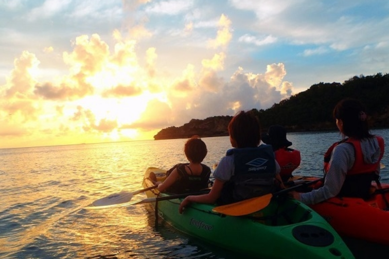 浪漫之旅!夕阳独木舟行程