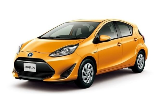[推薦4人座小型車,1500cc,3個標準貨物箱][常見車款, 駕駛容易][豐田Aqua Hybrid][包括免責保險/noc先擇]