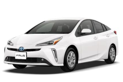 [推薦4人座橋車,1800cc,4個標準貨物箱][常見車款, 駕駛容易][领导轎車的典范-豐田普銳斯Prius hybrid][包括免責保險/noc1次]